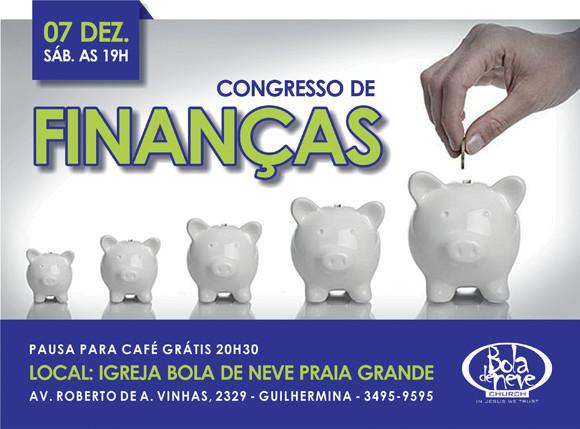 congresso de finanças