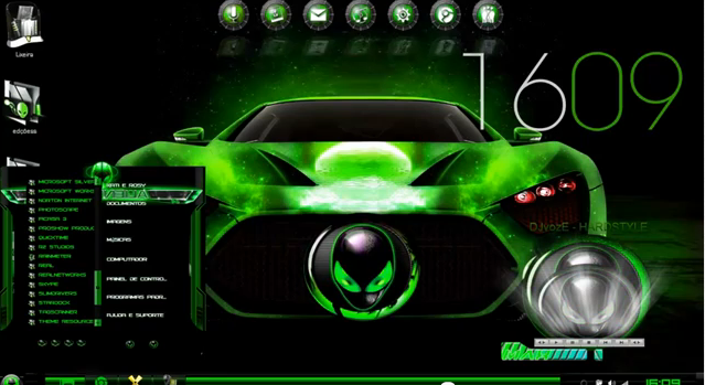 car verde