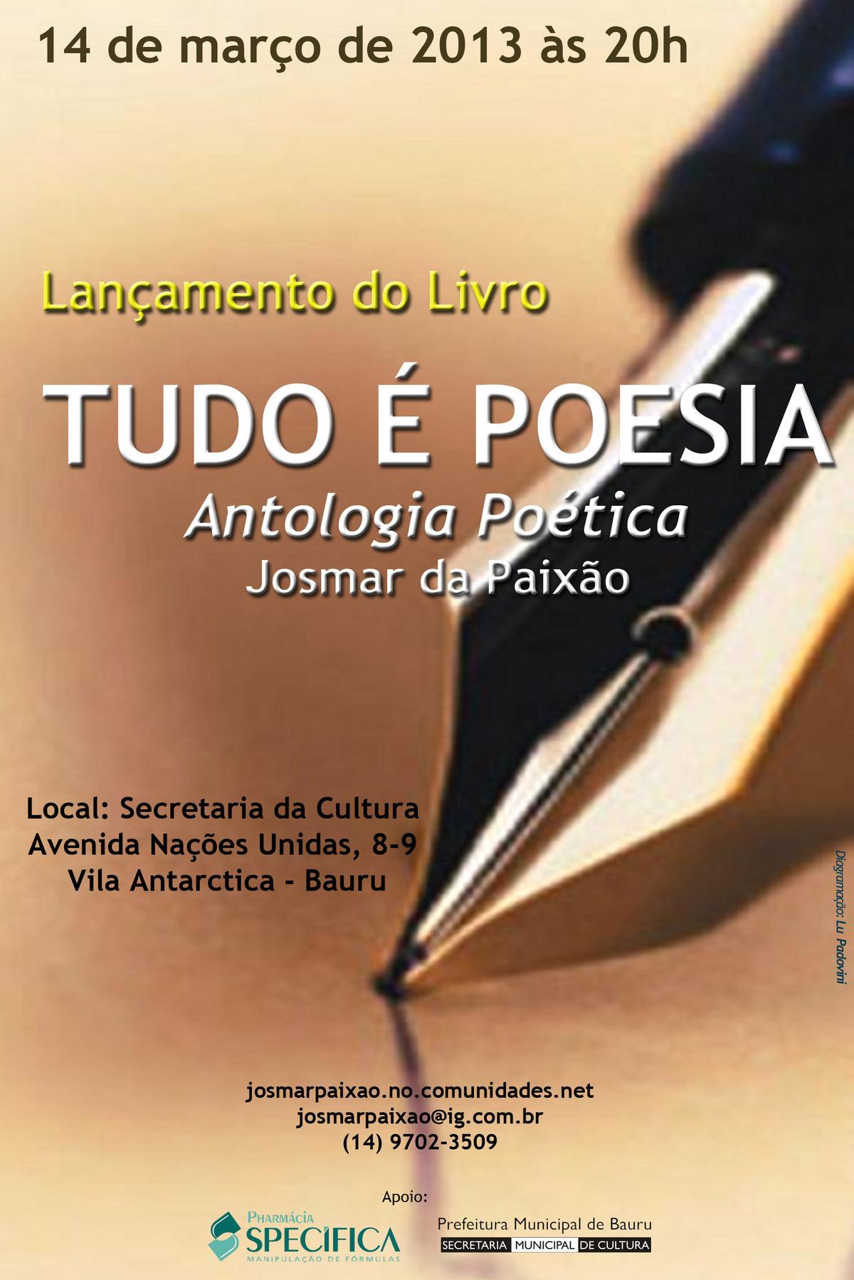 14/03/13 LANÇAMENTO DO LIVRO