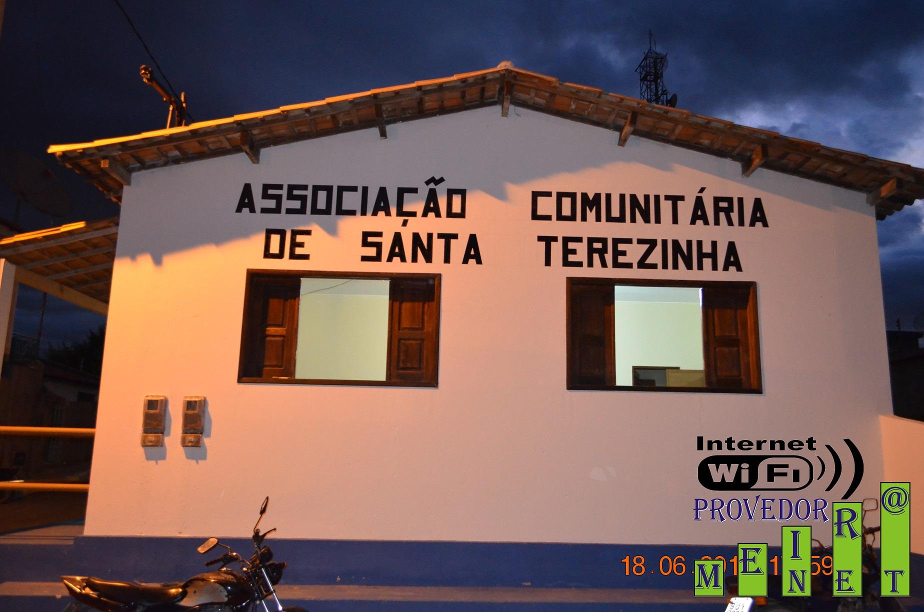 Sede da Associação Comunitária de Santa Terezinha no Distrito Cristais