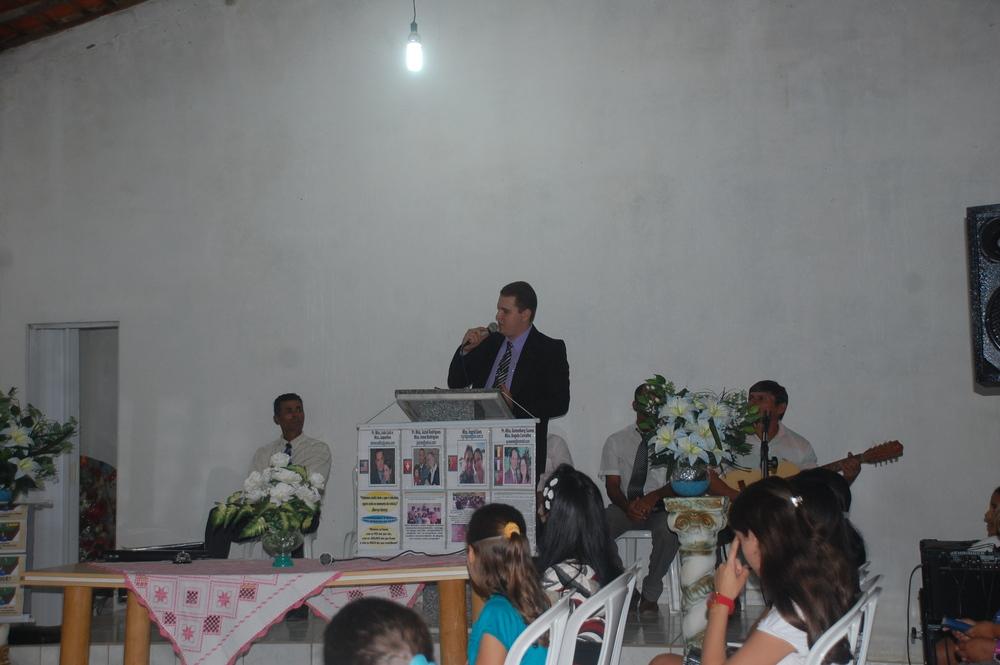 APRESENTANDO O TRABALHO MISSIONARIO!