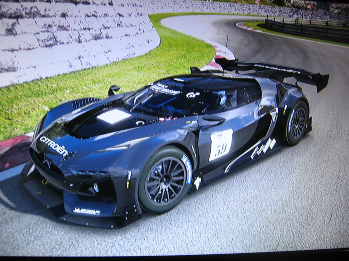 Gt By Citroen Race Car Gt Tuning