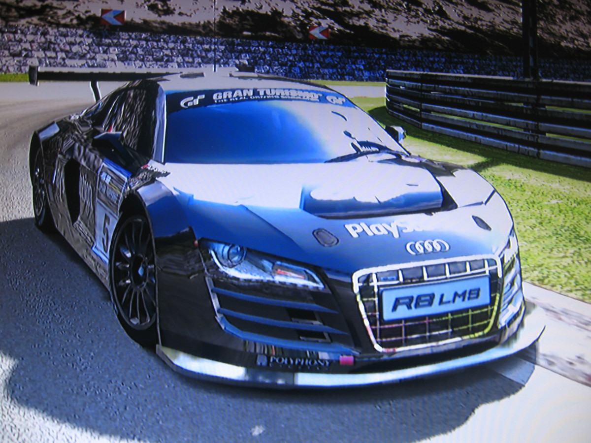 AUDI R LMS RACE CAR TEAM PLAYSTATION - Audi r8 race car 01 gt6