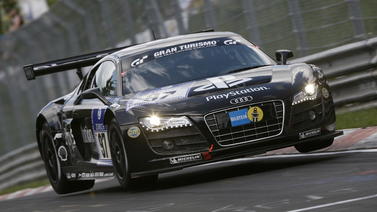 Audi R LMS Team PlayStation - Audi r8 race car 01 gt6