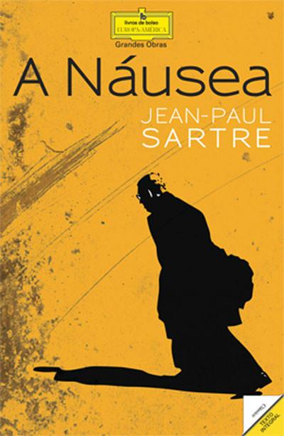 Capa - Náusea Sartre