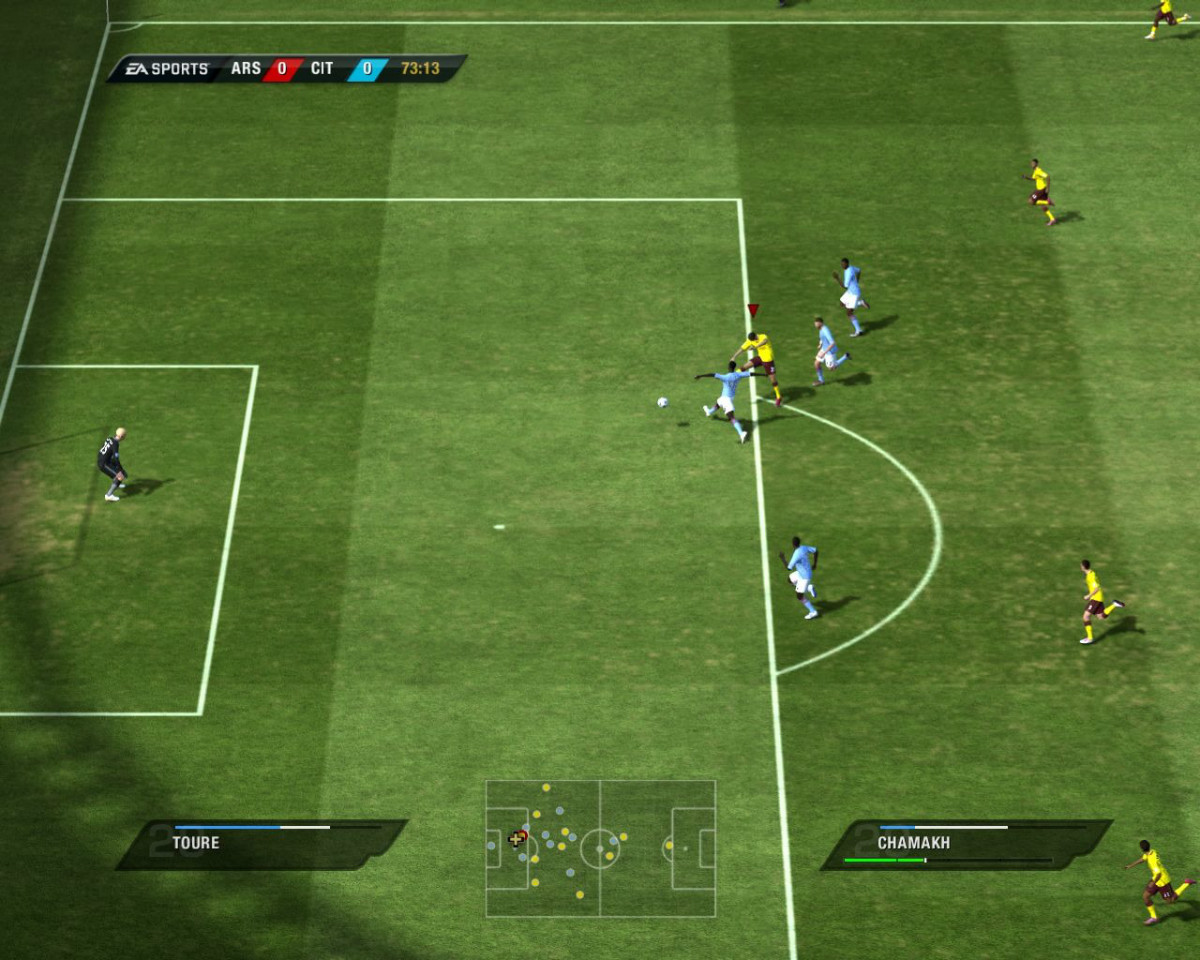 Играйте так же. Видео и скриншоты к игре FIFA 11.