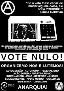 Vote Nulo Não Sustente Parazitas