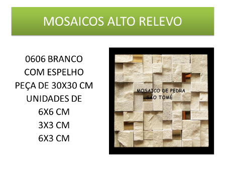 Mosaico 0606 Branco