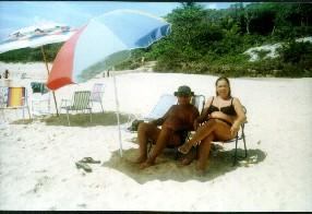 Praia em Prado-BA
