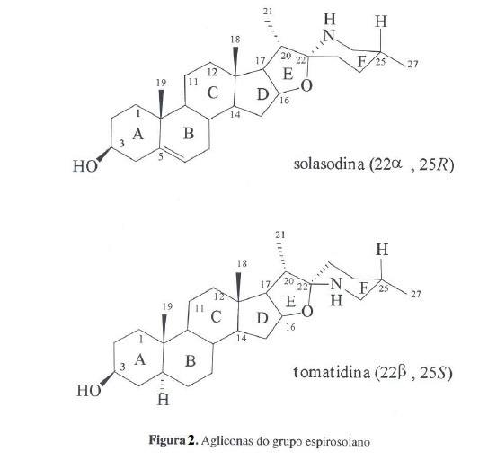 sapogeninas esteroidales