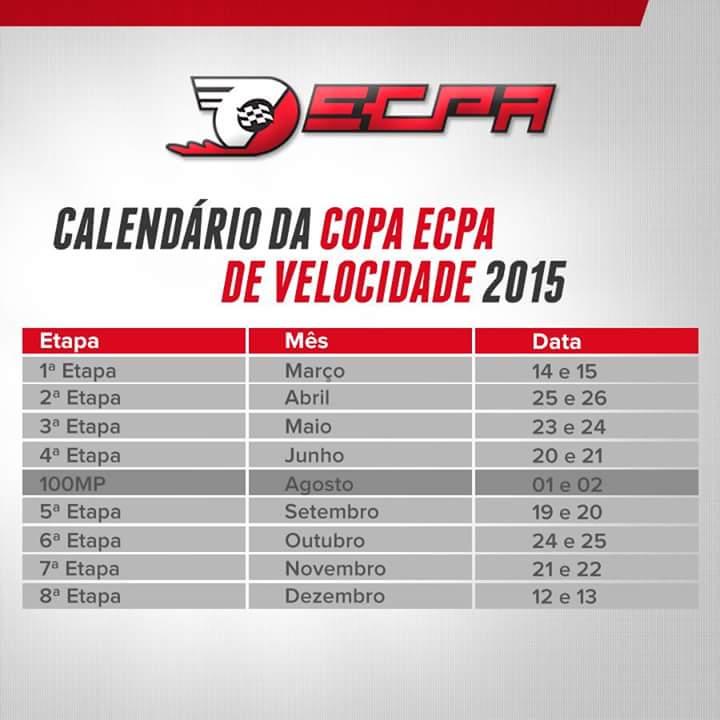Calendario ECPA 2015