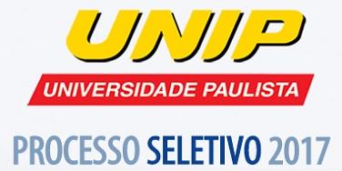 Processo Seletivo UNIP - 2017