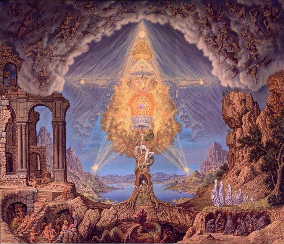 Imagem esotérica.