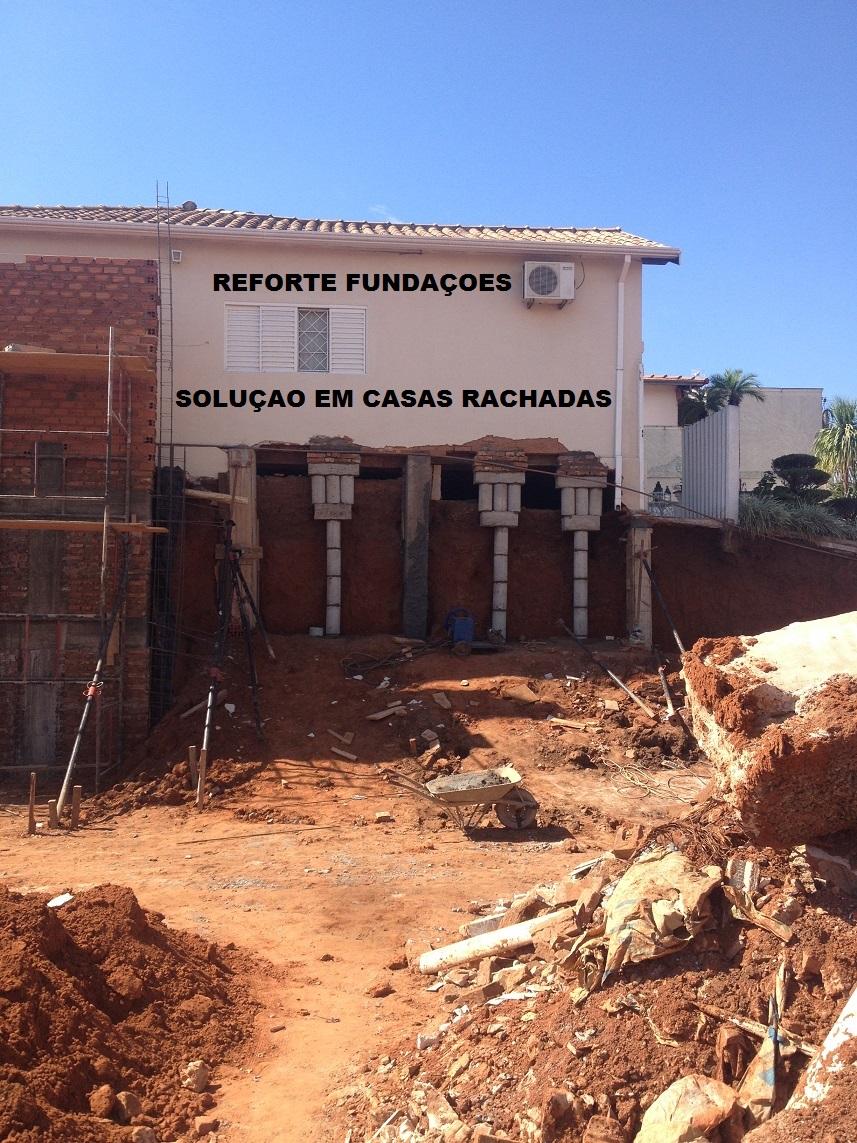 reforço de fundação