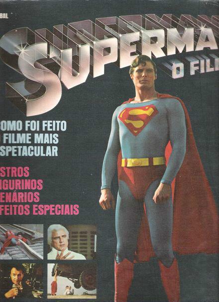 Superman O filme Album gigantesco
