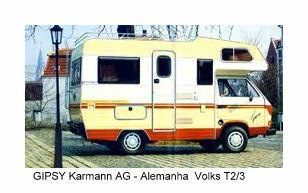 KG GIPSY sobre VW T3