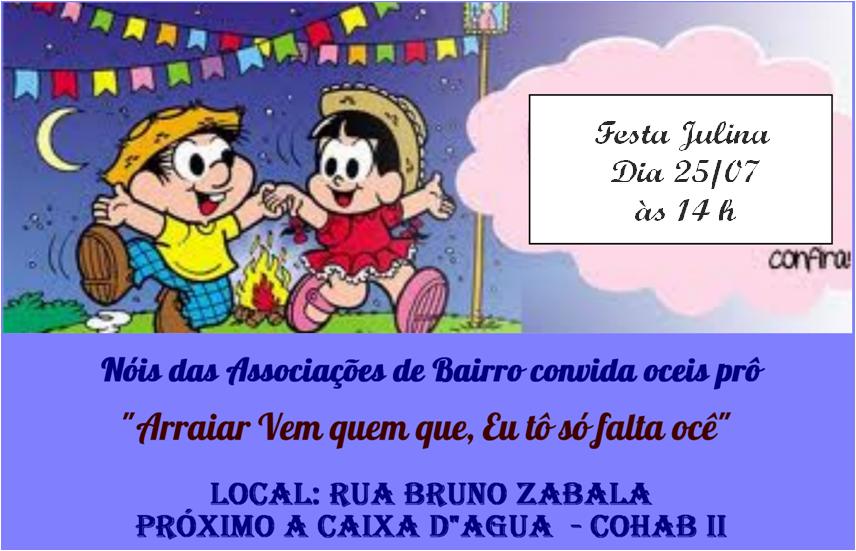 Festa Junina Santa Zita