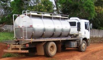 caminhão tanque leite