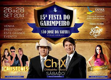 Festival do Garimpeiro 2014