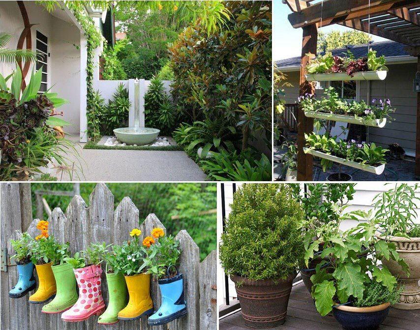 ideias para seu jardim
