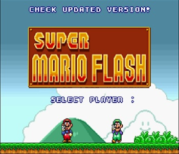 Super Mario Flash