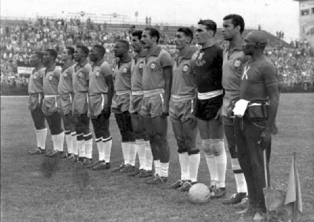 Resultado de imagem para selecao brasil 1954