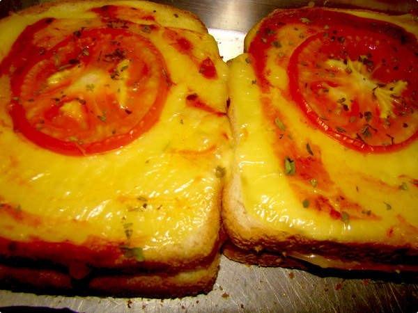 sanduba de forno