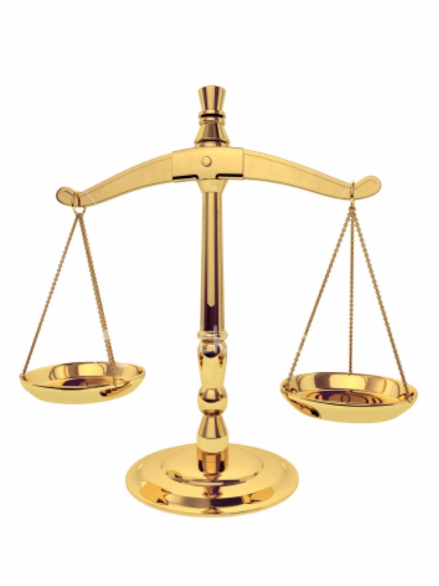 Imagens da balança da justiça