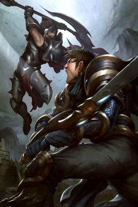 Darius e Garen