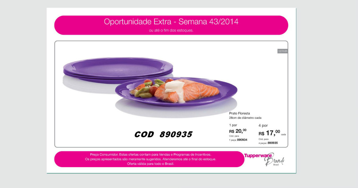 TUPPERWARE GOIANIA