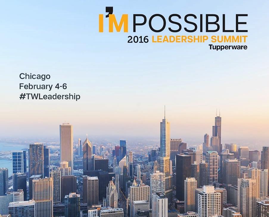 Fiquem ligados falta menos de uma semana para o Grande Evento Tupperware US. Leadership Summit 2016!