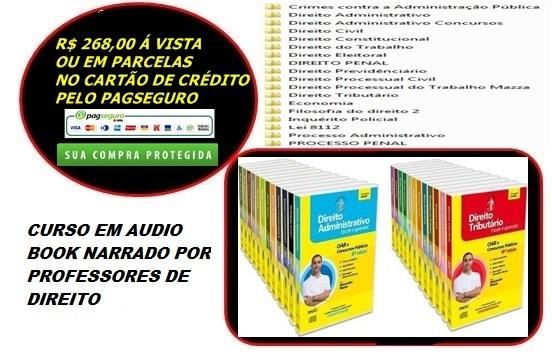 CURSO DE DIREITO EM ÁUDIO