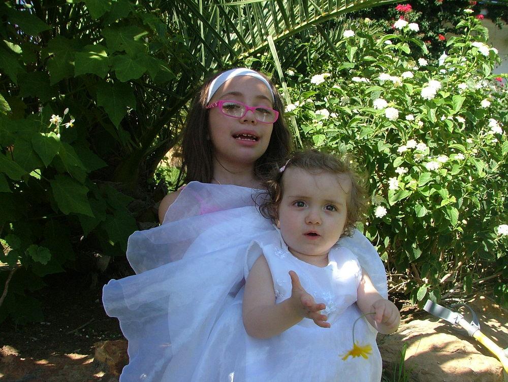 batizado da Yara com a Vera