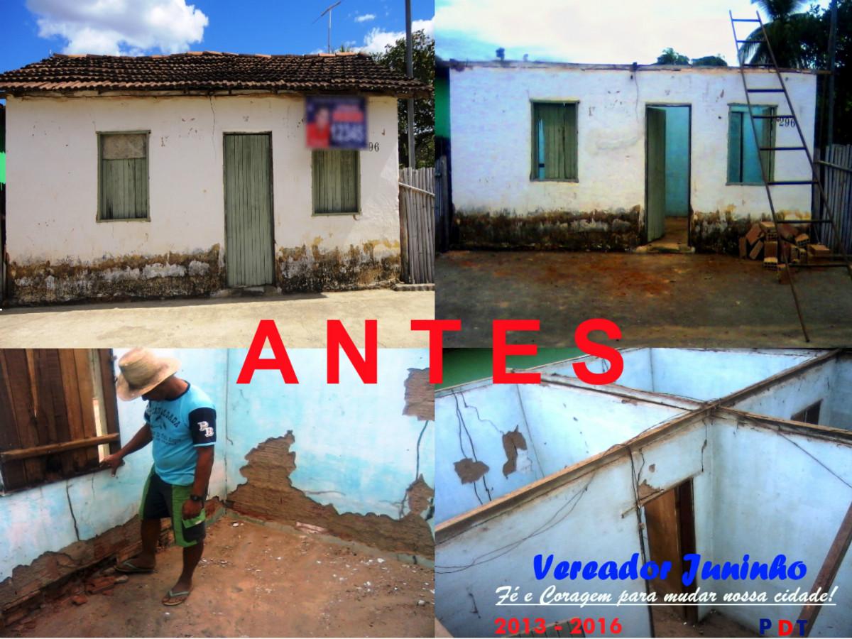 Vereador juninho faz entrega de casa - Reforma de casas ...