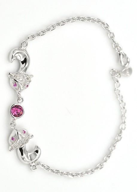 bracelets tendence en pierres fines, opales et crystaux, de la collection * le renard* pour femme.