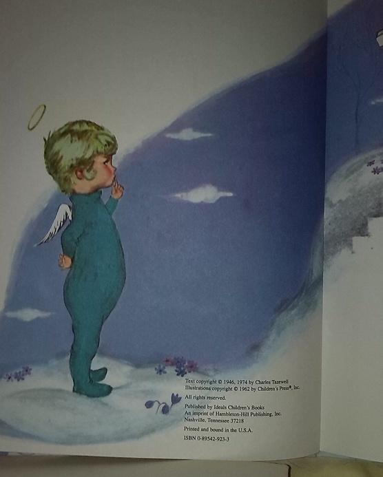 The Littlest  Angel; une histoire Enfantine de Noël, en anglais.