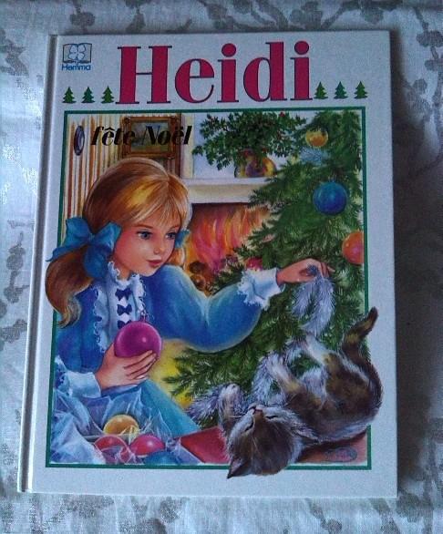 Heidi fête Noël