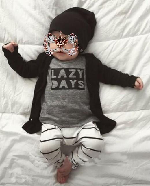 Pulls pour bébé à 100% coton, manches longues et ouverture sur l'épaule, en vente chez Zappandoo.comunidades.net