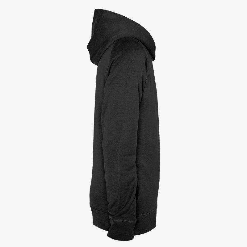 Sweater tendance à capuche, manches longues et poches latérales, double saison, hiver et printemps, pour homme, en vente sur Zappandoo